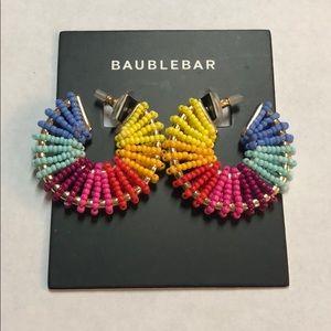 Baublebar Giana Hoop Earrings — Rainbow